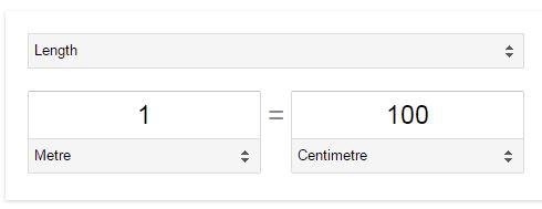 Google ke prayog se Unit Parivartan