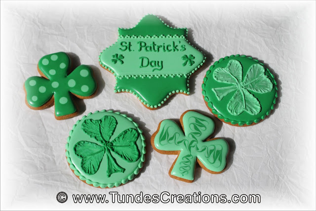 St Patrick's Day cookies by Tunde Dugantsi