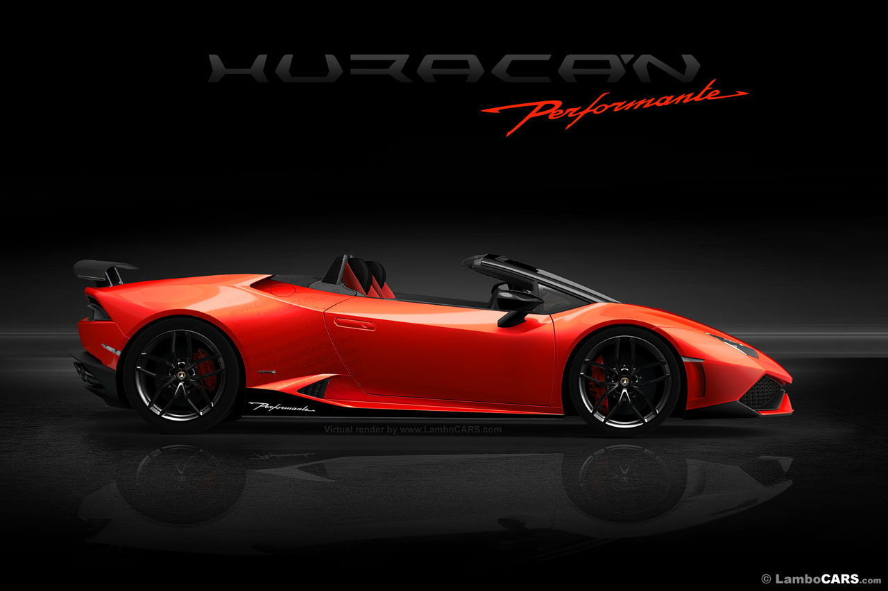 lamborghini planning huracan spyder performante. Black Bedroom Furniture Sets. Home Design Ideas