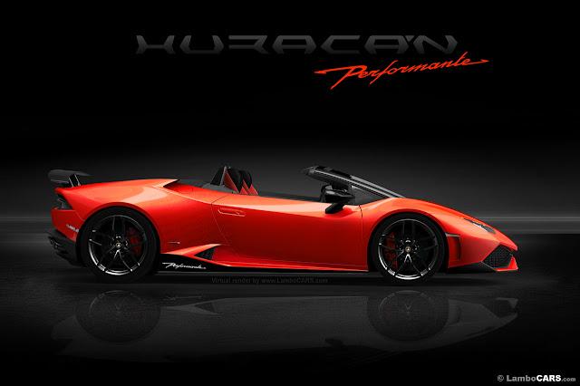 Lamborghini Planning Huracan Spyder Performante