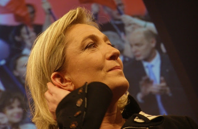 Image Attribute: File photo of Marine Le Pen by Antoine Bayet /  Source: Wikimedia Commons