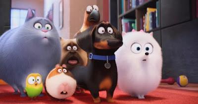 filme animação desenho animado hoje nos cinemas estreia resenha pets a vida secreta dos bichos personagens cachorro gato papagaio