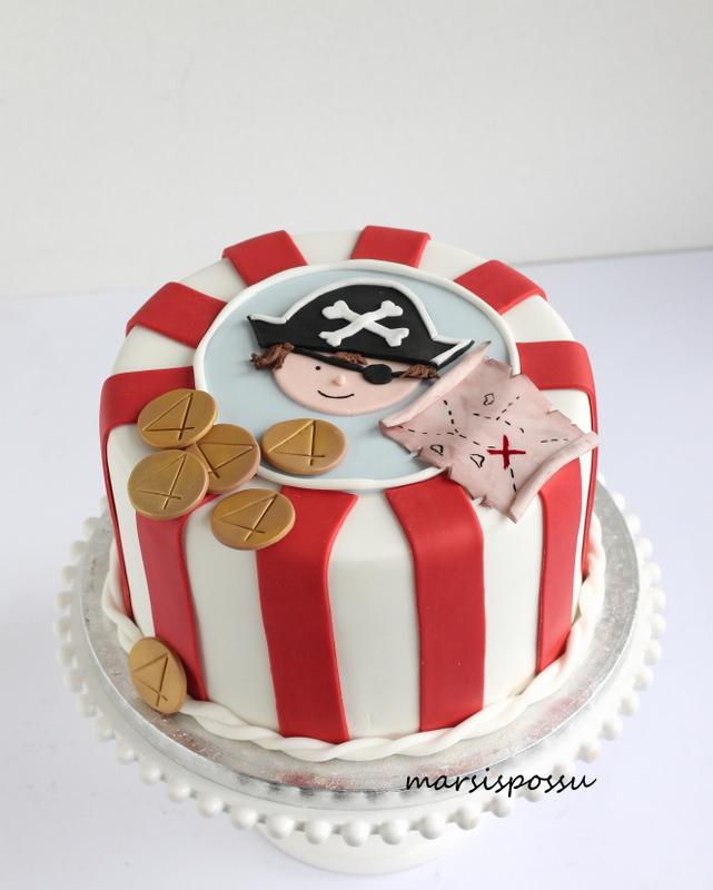 Merirosvoaiheinen kakku