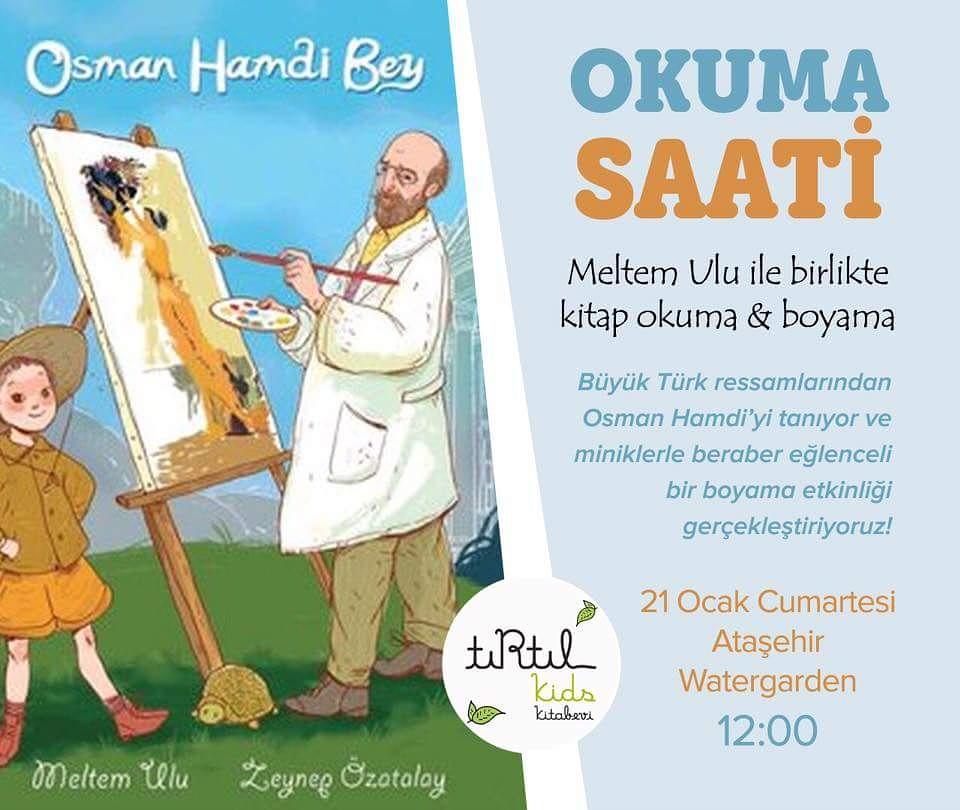 Osman Hamdi Bey Kitap Okuma Ve Boyama Meltemin Kitap Dünyası