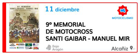 9º Memorial de Motocross Santi Gaibar - Manuel Mir