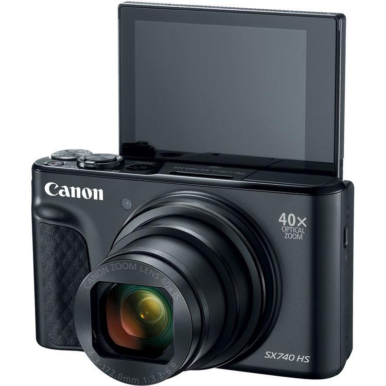 Откидной экран Canon PowerShot SX740 HS