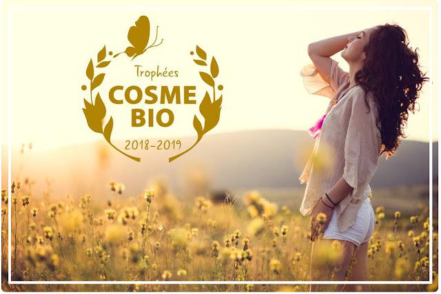 Trophée de  l'Excellence Cosmétique 2018 Cosmébio