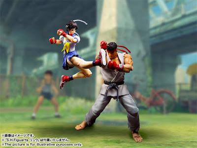"""S.H.Figuarts Sakura Kasugano de """"Street Fighter"""" - Tamashii Nations"""