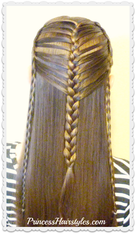 Easy Faux Mermaid Braid Hair Tutorial - Hairstyles For Girls ...