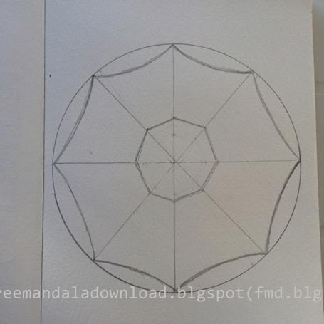 schritt f r schritt mandala zeichnung free mandala download. Black Bedroom Furniture Sets. Home Design Ideas