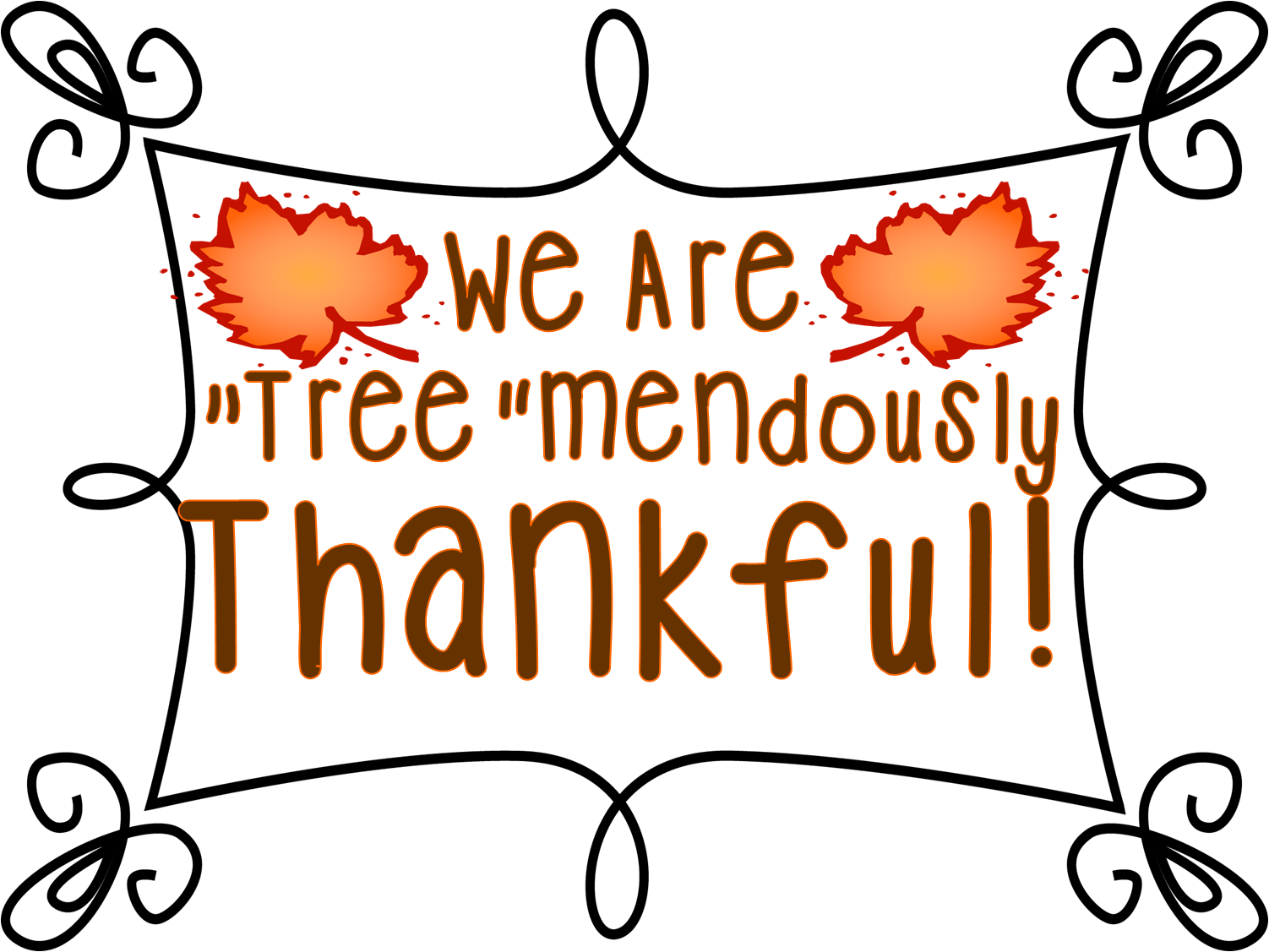 First Grade Wow Tree Mendously Thankful And Samuel