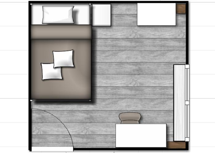 By annemae een droom slaapkamer - Volwassen slaapkamer kleur ...