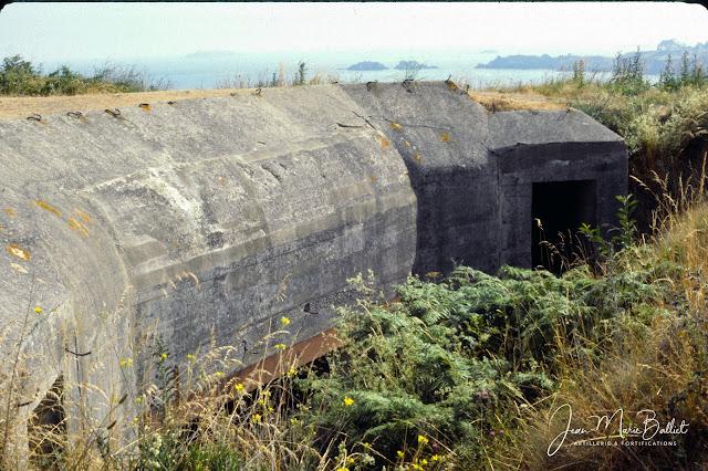 Fort d'Arboulé (la Varde). Casemate