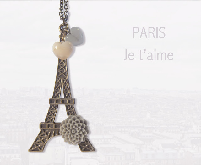 Nuevo collar: PARIS, JE T'AIME