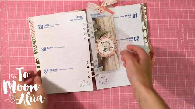 agenda escolar foto detalle marcapáginas diy