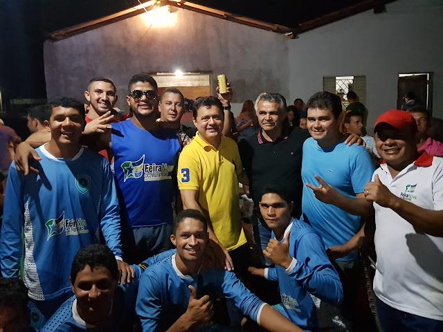 Deputado Rigo Teles consolida apoio do prefeito de Feira Nova do Maranhão, Tiago Dantas.