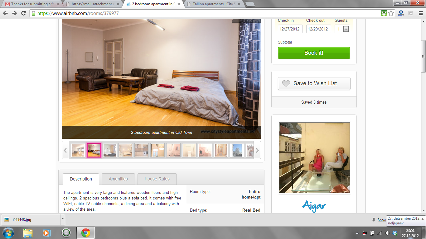 Airbnb Scam