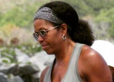 Michelle Obama on naural hair