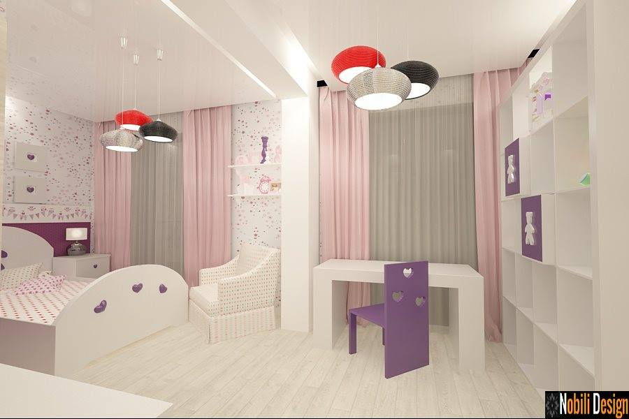 Design interior dormitor casa moderna-Proiect de casa la cheie - Bucuresti