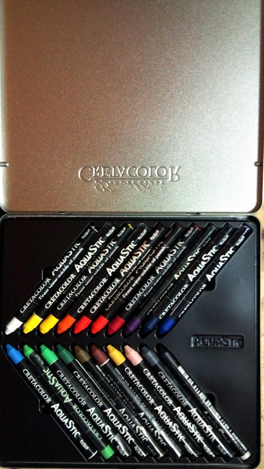 Watercolor Crayons: Cretacolor Aquastic