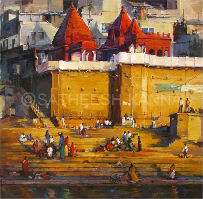 Индийский художник. Satheesh Kanna