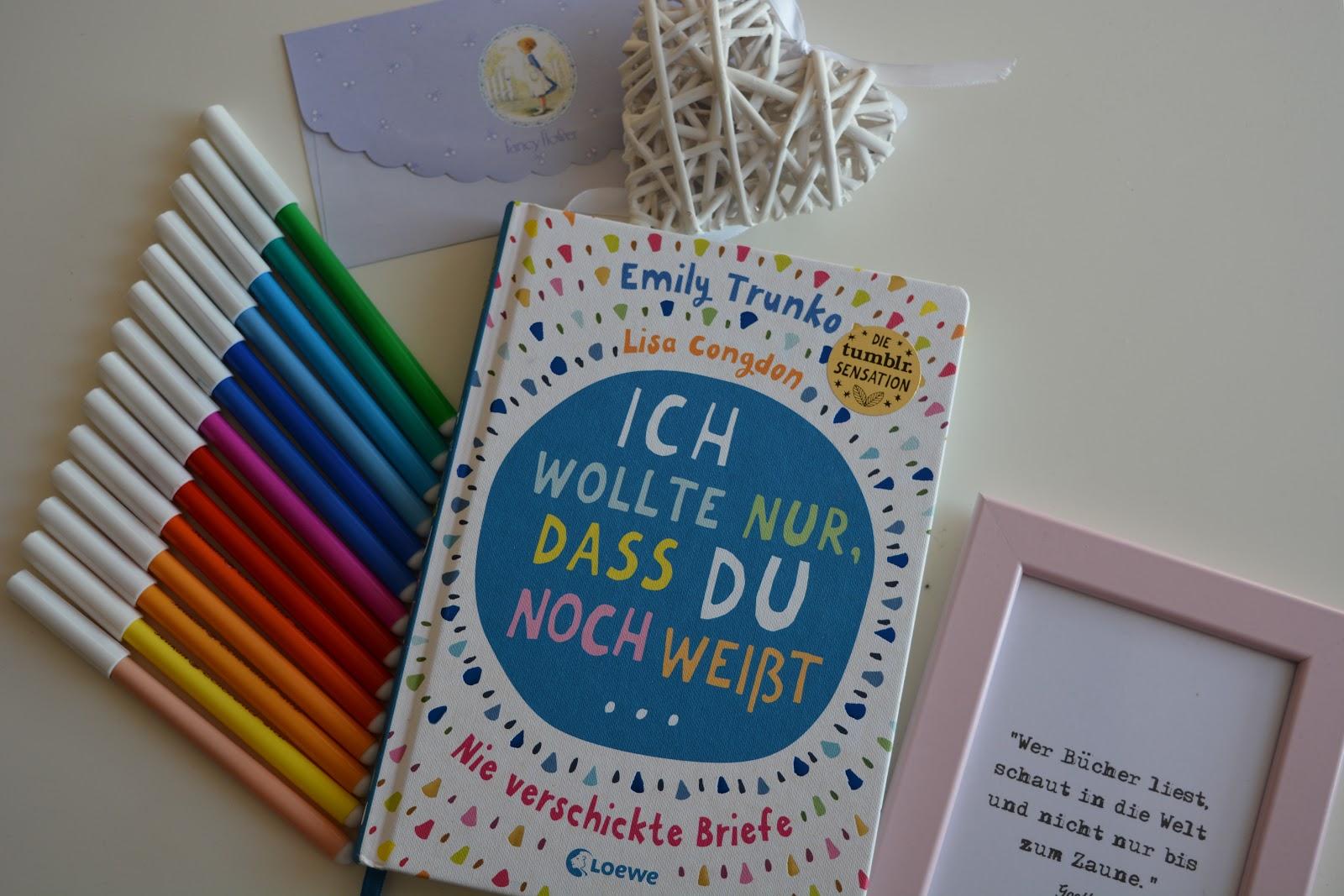 Briefe Für Emily : Annis bücherwelt quot ich wollte nur dass du noch weißt