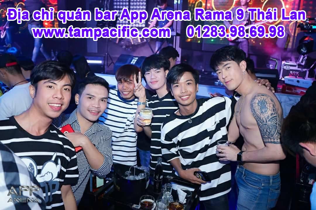 quán bar App Arena Rama 9 Thái Lan