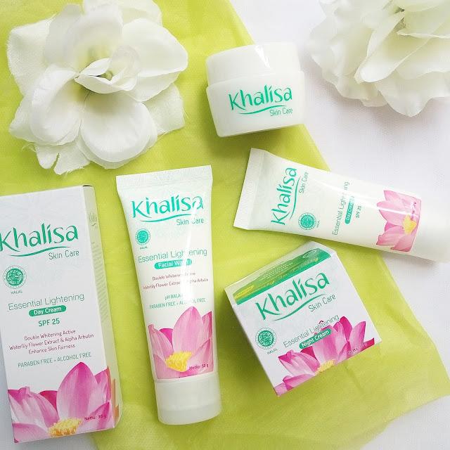 Rangkaian lengkap Khalisa Skincare
