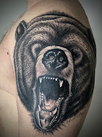 медведь тату