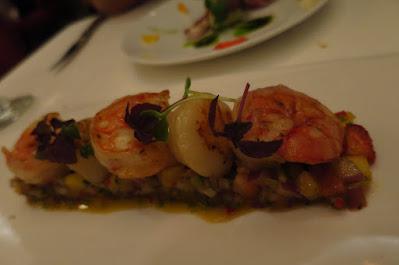 Lawry's, scallops shrimps