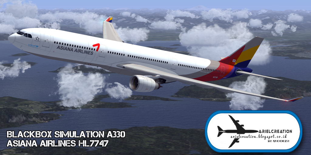 BlackBox Simulation A330 Livery FSX - Ariel Creation
