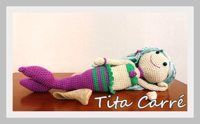 Minha Sereia em crochet