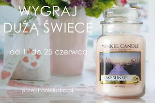 konkurs rozdanie na blogu wygraj świecę zapachową