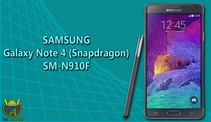 Download N910FXXS1DQA1 | Galaxy Note 4 (Snapdragon) SM-N910F