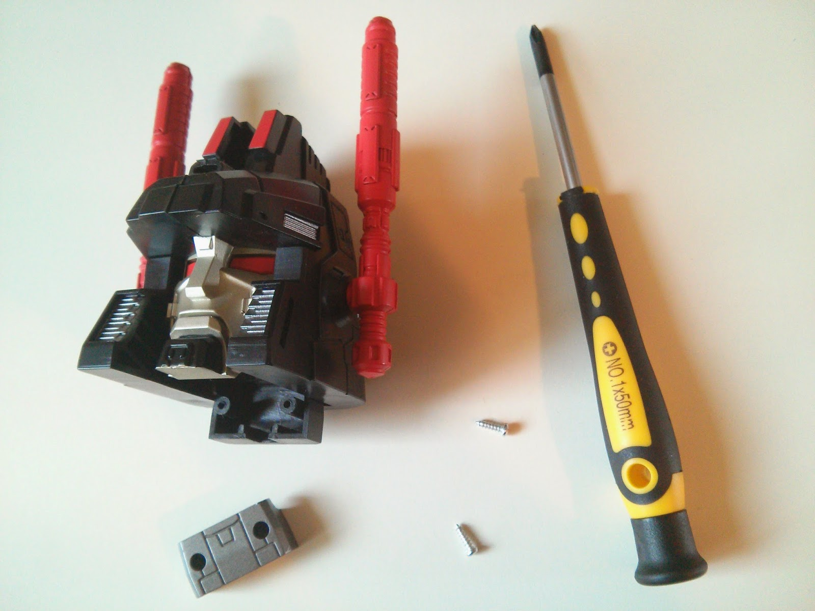 how to install the new head for metroplex