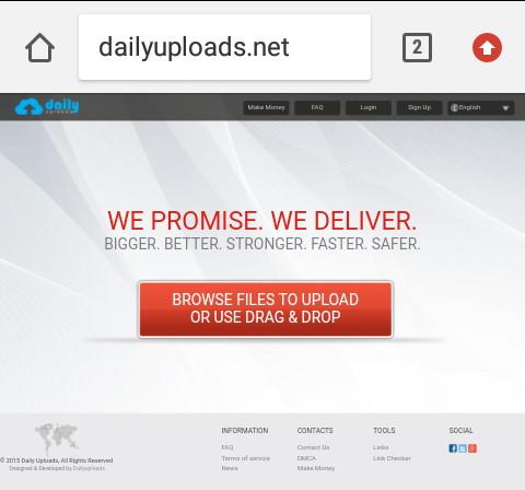 situs upload file dailyuploads