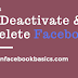 How to Deactivate or Delete Facebook Account Link Permanently Right Now