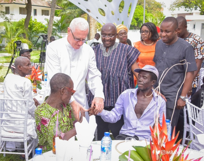 Veep Bawumia's Treatment Of Lepers Has Made Me The Happiest Man - Father Campbell