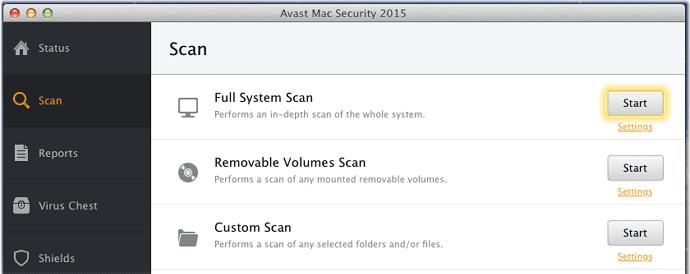 scan full antivirus biar gak nge-lag lagi
