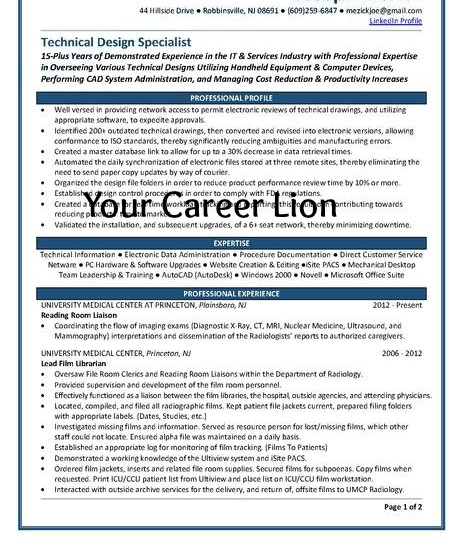 Your Career Lion Resume - How To Find Right Key and open the door