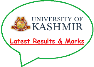 Kashmir University Result 2020