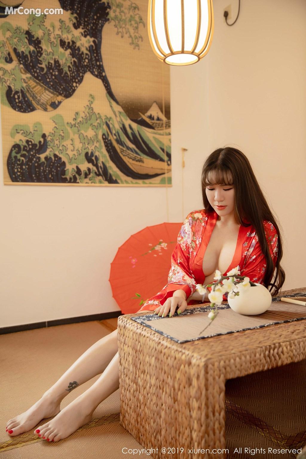 Image XIUREN-No.1647-Wang-Zi-Lin-MrCong.com-001 in post XIUREN No.1647: Wang Zi Lin (王紫琳) (83 ảnh)