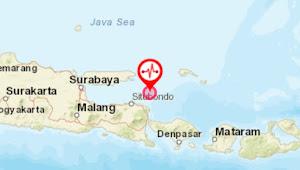 Gempa Situbondo, Guncangan Hingga Pulau Madura