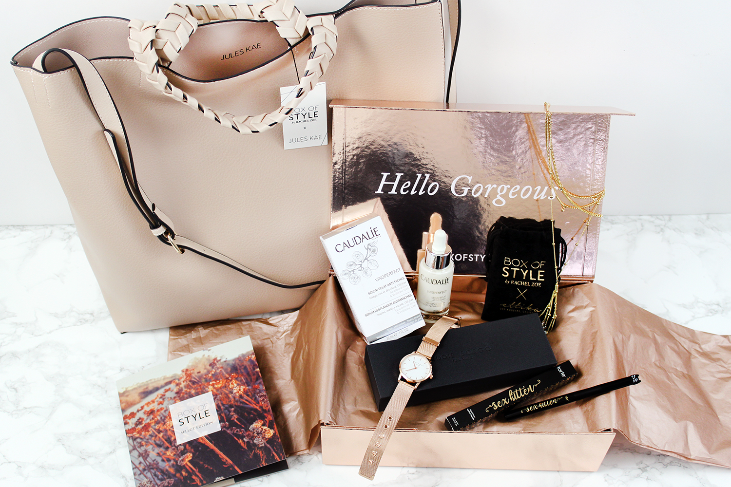 ac0e6499999b Southern Mom Loves  Box of Style Winter 2018 Select Edition Unboxing ...