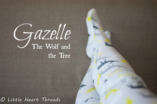Pattern Test: Gazelle Footed Tights