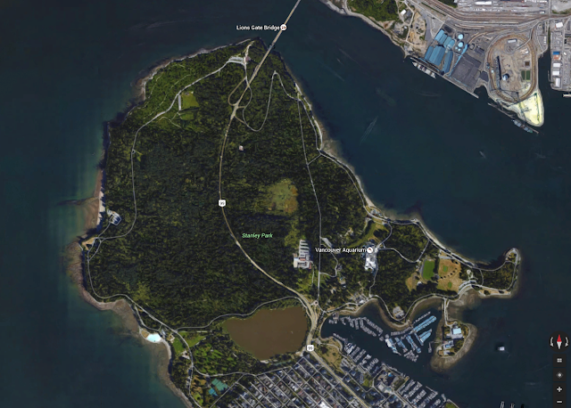 Stanley Park on Google Maps