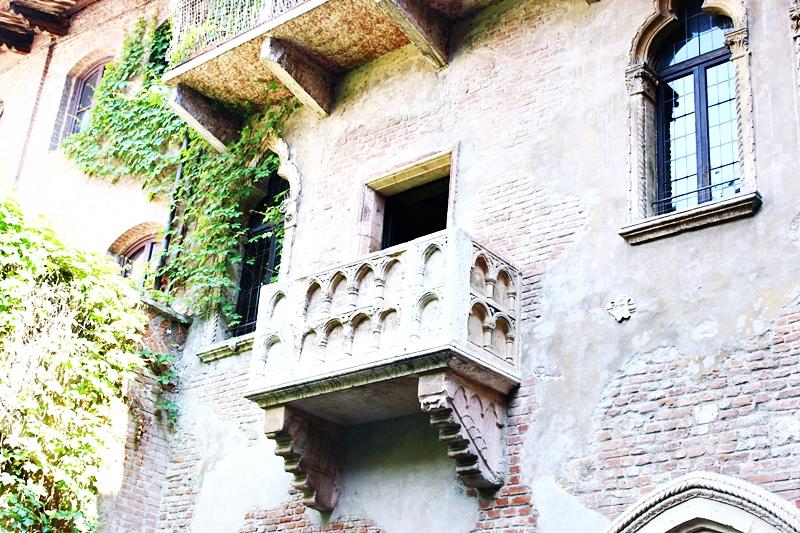 Julijin balkon u Veroni u Italiji
