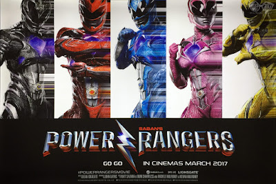 Power Rangers (2017) Movie Banner Poster 1