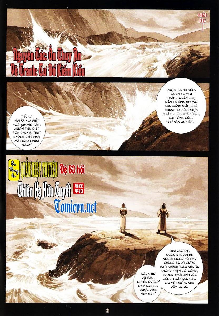 Ôn Thụy An Quần Hiệp Truyện chap 63 trang 2