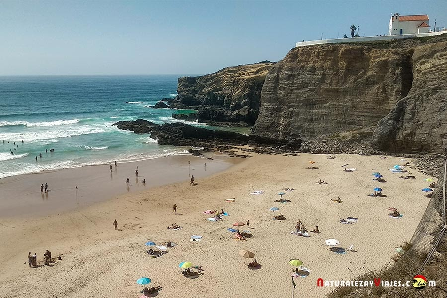 Praia Zambujeira do Mar, Alentejo